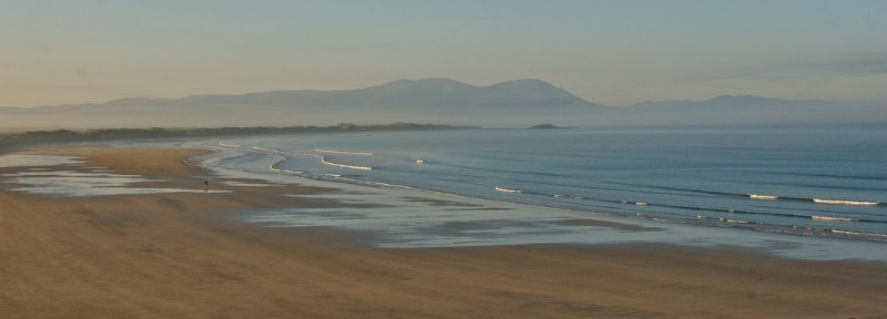 View of the Ballyheigue beach from O Neill's Bed and Breakfast Co. Kerry.